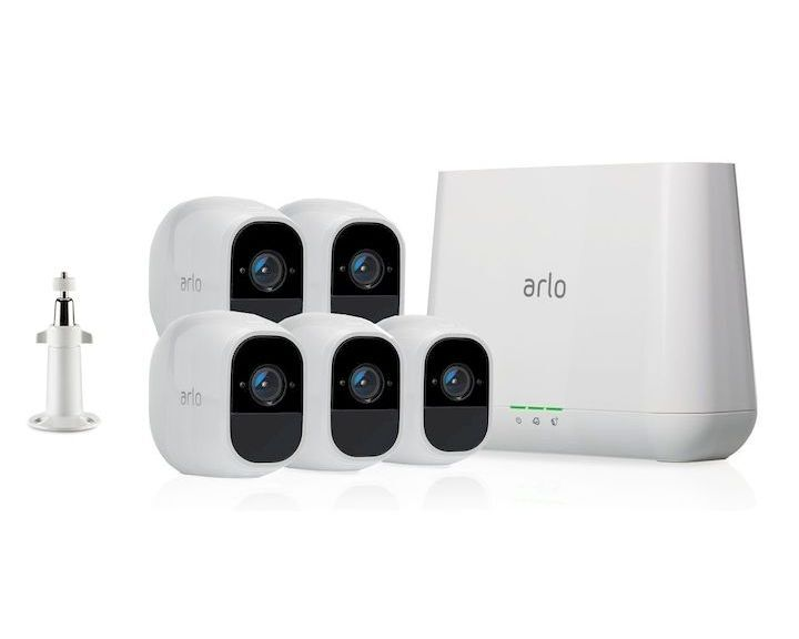 Netgear Arlo Pro 2 Wire-Free HD Camera 5 Security System