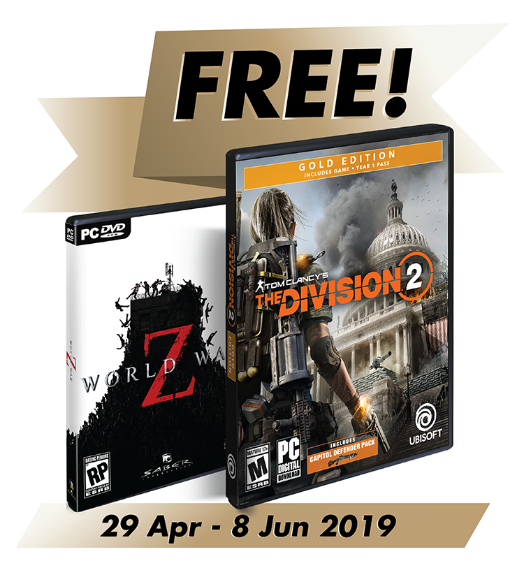 Free Tom Clancy's The Division® 2 Gold Edition