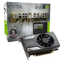 EVGA GeForce GTX1060 SC Gaming Graphics Card, 3GB GDDR5, PCIE, Full Height, ACX 2.0 (Single Fan), DVI-D, DP x3, HDMI, Max 4 Outputs