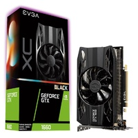 EVGA GeForce GTX 1660 XC BLACK GAMING 6GB Video Card