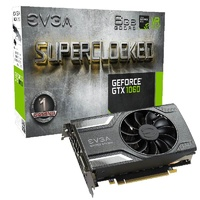 EVGA GeForce GTX 1060 SC GAMING 6GB Video Card