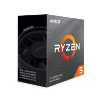 AMD Ryzen 5 3600 6 Core Socket AM4 3.6GHz CPU Processor + Wraith Stealth Cooler