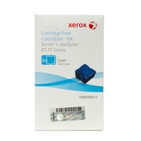 Fuji Xerox COLORQUBE CYAN INK 2 STICKS FOR COLORQUBE 8570