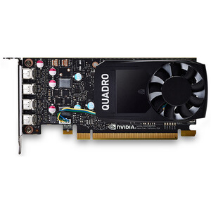Leadtek Quadro P620 Work Station Graphics Card PCIE 2GB DDR5, 4H(mDP), Single Slot, 1x Fan, Low Profile