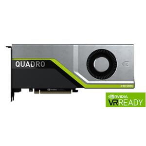 Leadtek Quadro RTX6000 Work Station Graphic Card PCIE 24GB GDDR6 4H (DP) VirtualLink (1) 1x Fan, ATX