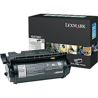 Lexmark 12A7465 BLACK TONER (RETURN PROGRAM) YIELD 32,000 PAGES FOR T632, T634, X632