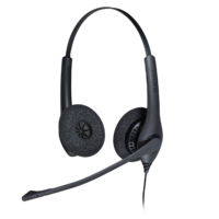 Jabra BIZ 1500 QD Duo corded Headset with noise-cancellation