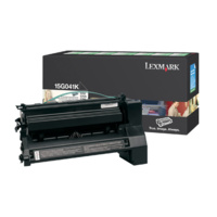 Lexmark 15G041K BLACK (PREBATE) TONER YIELD 6,000 PAGES FOR C752, 760, 762