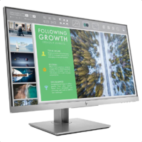 "HP E243 23.8"" IPS, 16:9, 1920x1080, VGA+DP+HDMI+USB, Tilt, Swivel, Pivot, Height, USB, 3 Yrs"