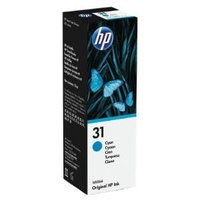 Hewlett Packard 31 70ML 8000 PAGES CYAN INK BOTTLE FOR SMART TANK 455