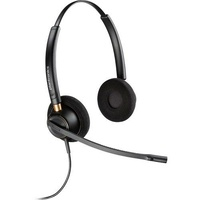 Plantronics EncorePro HW520D Over-the-Head Wideband Binaural NC Corded Headset
