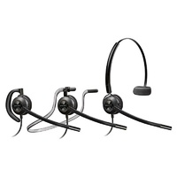 Plantronics EncorePro HW540D Convertible Wideband Monaural NC Corded Headset