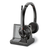 Poly Savi W8220-M Stereo Wireless DECT Headset System - Skype Certified