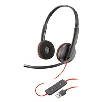 Plantronics Blackwire C3220 Stereo UC USB-A Headset