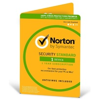 Norton Security  2020, 1  Device, 12 Months, PC, MAC, Android, iOS, OEM  -   ESD Version - Keys via Email