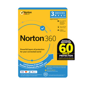 Norton 360 Standard 10GB -1 User -3 Devices - 12 Months PC, MAC, Android, iOS - License Key