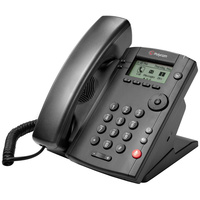 Polycom VVX 101 1-line Desktop Phone with single 10/100 Ethernet port 2200-40250-025