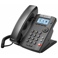 Polycom VVX 201 2-line Desktop Phone with dual 10/100 Ethernet ports 2200-40450-025