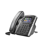 Polycom VVX 410 12-line Desktop Phone Gigabit Ethernet with HD Voice 2200-46162-025