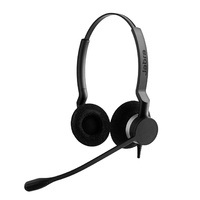 Jabra BIZ 2300 USB MS Duo Corded Headset - Skype for Business