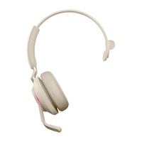 Jabra Evolve2 65 UC USB-C Mono Bluetooth Headset - Beige