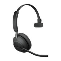 Jabra Evolve2 65 MS Mono USB Bluetooth Headset - Black