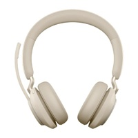 Jabra Evolve2 65 MS USB-A Stereo Bluetooth Headset - Beige