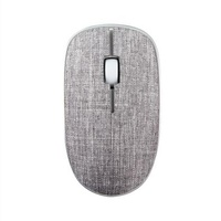 Rapoo 3510PLUS 2.4G wireless fabric optical mouse Grey (LS)
