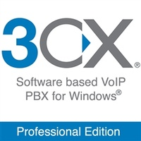 3CXPSPROF4 3CX Phone System Professional Edition Up to 4 Simultaneous Calls