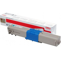 Oki TONER CARTRIDGE FOR C301/321 CYAN; 1500 PAGES
