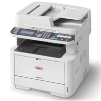 Oki MB472DNW MONO A4 33PPM NETWORK WIRELESS AIRPRINT PCL DUP ADF 350 SHEET +OPTIONS 4-IN-1 MFP