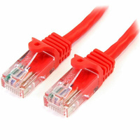 StarTech 1m Cat5e Snagless RJ45 UTP Patch Cable (M/M) - Red