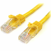 StarTech 1m Cat5e Snagless RJ45 UTP Patch Cable (M/M) - Yellow