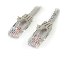 StarTech 5m Snagless UTP Cat5e Patch Cable - Grey