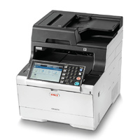 Oki MC573DN COL A4 MFP 30PPM NET AIRPRINT, GOOGLE CLOUD PRINT, DUP 350 SHT 4-IN-1 WITH 7 IN T