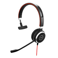 Jabra Evolve 40 MS MonoHD Audio Microsoft Lync & Skype certified Wired Headset