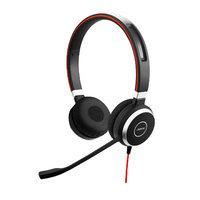 Jabra Evolve 40 MS StereoHD Audio Microsoft Lync & Skype certified Wired Headset
