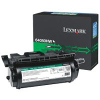 Lexmark 64080HW BLACK (GREENLITE)TONER YIELD 21,000 PAGES FOR T640, T642
