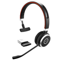 Jabra Evolve 65 UC Wireless MonoHD Audio Headset - 6593-829-409