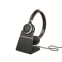 Jabra Evolve 65 UC Stereo Bluetooth Headset (incl. Charging Stand)