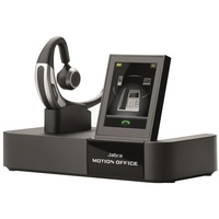 Jabra MOTION OFFICE UC Bluetooth Headset with touch screen base