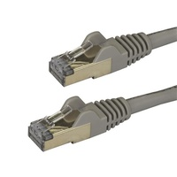 StarTech 3m Gray Cat6a Ethernet Cable - Shielded (STP)