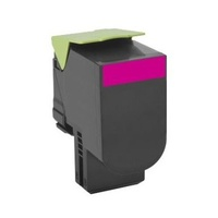 Lexmark 708XME MAGENTA EXTRA HIGH YIELD CORPORATE TONER CARTRIDGE, 4K, CS510