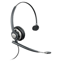 Plantronics EncorePro HW710D Wideband Monaural NC Corded Headset