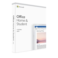 Microsoft Office Home and Student 2019 Medialess 1 User for PC & Mac - (replaces SMSOHS2016P2 - 79G-04751)
