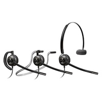 Plantronics EncorePro HW540 Convertible Wideband Monaural NC Corded Headset