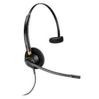 Poly EncorePro HW510 Over-the-Head Monaural NC Corded Headset