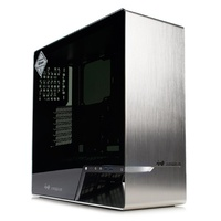 In Win 905 OLED Tempered Glass Mid-Tower E-ATX Case - Silver