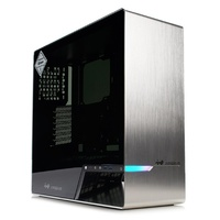 In Win 905 RGB Tempered Glass Mid-Tower E-ATX Case - Silver