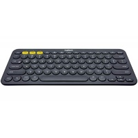 Logitech K380 Multi-Device Wireless Bluetooth Keyboard - Black